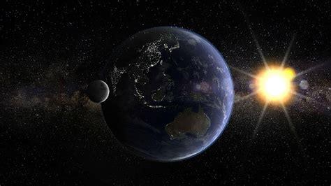 HD wallpaper: earth, sun, moon, globe, planet, space ...