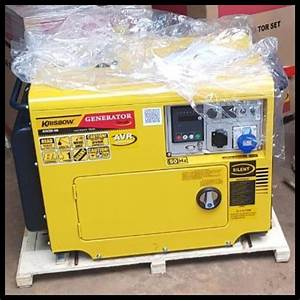 Jual Segera Miliki Generator Set Genset Krisbow 5000 Watt