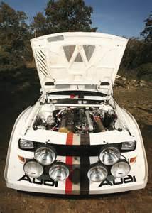 1985 Audi Sport Quattro S1 Rally Car