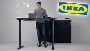 Bekant Gesunder Ikea Schreibtisch COMPUTER BILD