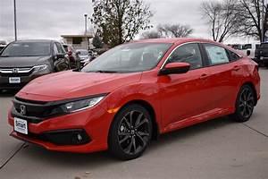 New 2019 Honda Civic Sedan Sport 4dr Car In Des Moines