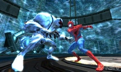spider man edge  time ds review ign