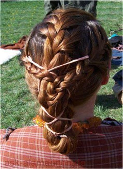 alamannische haartracht  alamannen