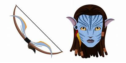 Neytiri Avatar Bow Cursor Packs Hover