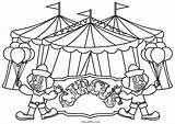 Circus Coloring Pages Printable sketch template