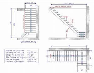 Calcul Escalier Quart Tournant : ordinary calcul escalier quart tournant 14 2267 ~ Dailycaller-alerts.com Idées de Décoration