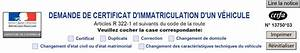 Code Certificat D Immatriculation : certificat d 39 immatriculation quels co ts et pi ces justificatives legipermis ~ Maxctalentgroup.com Avis de Voitures