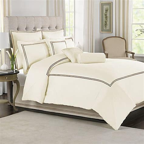 buy wamsutta 174 baratta stitch king comforter set in ivory