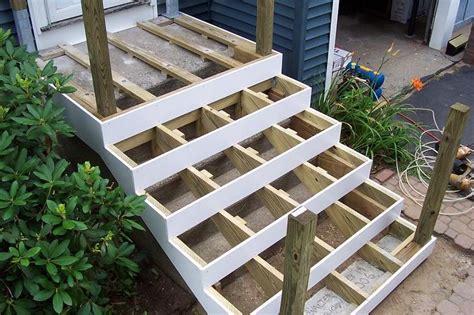 patio deck wood  concrete home citizen