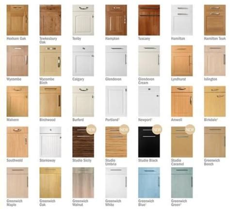 Cupboard Door Styles by Awesome Various Designs And Colors For Kitchen Cupboard
