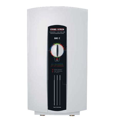 stiebel eltron 230628 dhc e 12 point of use tankless electric water heater 208v 12