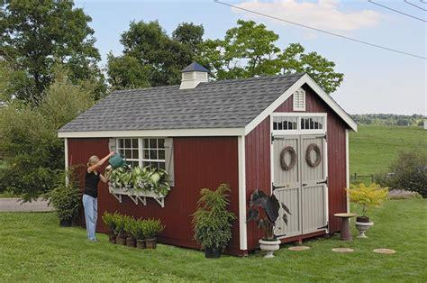 amish wood colonial williamsburg shed