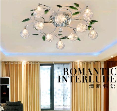 chambre a coucher italienne pas cher mode 2013 plafonnier artistique feuilles vertes cristal