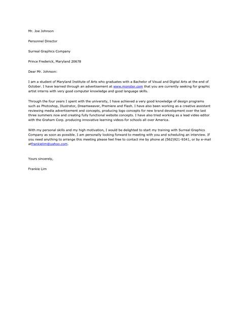 graphic design cover letter resume badak