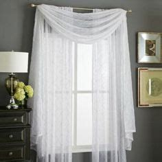 searsca sheer curtains wholehome classic tm mc leona embroidered sheer scarf