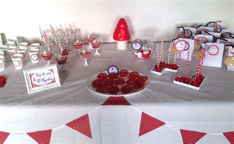 sweet table anniversaire le petit chaperon rouge miam