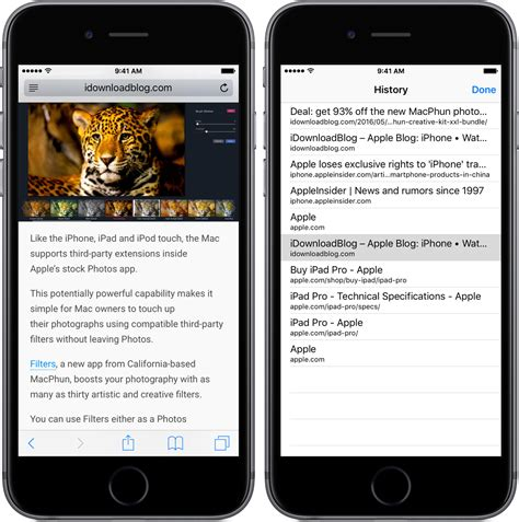 safari history iphone how to view recent safari history on iphone and