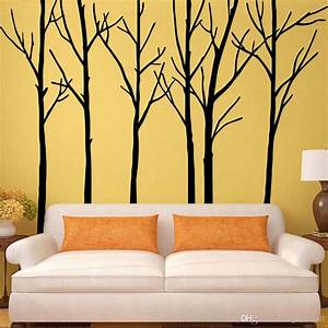 Wall decal inspiring tree wall decals for living room diy for Inspiring tree wall decals for living room