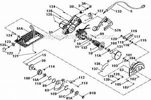 Porter Cable 743 Parts List And Diagram