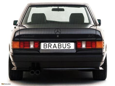 Brabus Mercedes-Benz 190 E 3.5 (W201) images (1280x960)