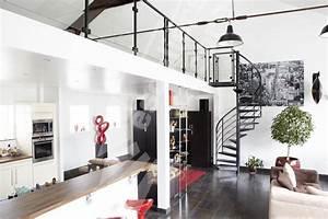 decoration mezzanine loft With superior maison avec escalier exterieur 9 amenagement mezzanine