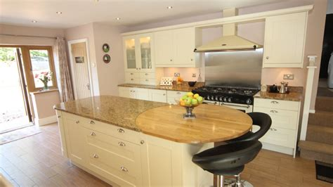 cream painted timber kitchen  granite  wooden