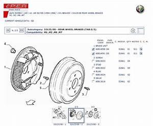 Alfa 146 Brake Conversion - Alfa Romeo 145