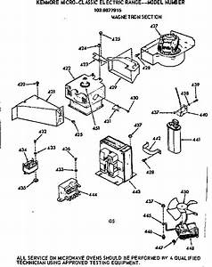 Kenmore 1039877915 Electric Range Parts