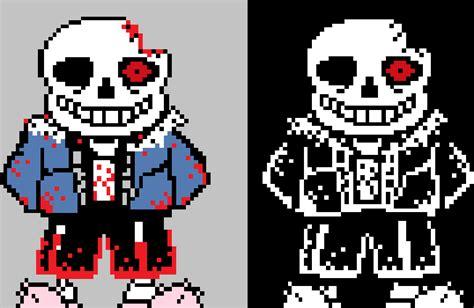 Horrortale Sans Sprites (my Version) By Hattington-makes
