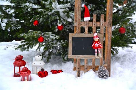Weihnachtsdeko Für Garten Und Terrasse by 16 Ideen Weihnachtsdeko F 252 R Ihren Garten Teil 11