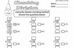 HD wallpapers division chunking ks2 worksheets wallpaper-desktop ...