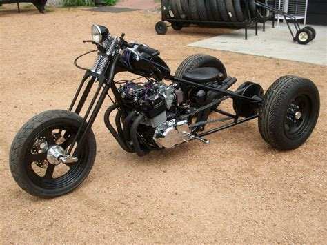 Honda Cb750 Boxer Trike Frame And Rear End ( Chopper