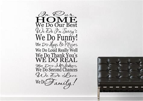 home   family text quotes wall stickers