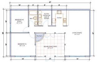 40x60 Barndominium Floor Plans by Steel Building Homes Floor Plans Solareon Court Plan