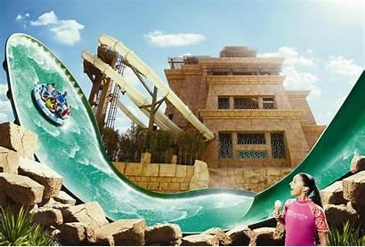 Atlantis Aquaventure Waterpark Palm Dubai Middle Trip