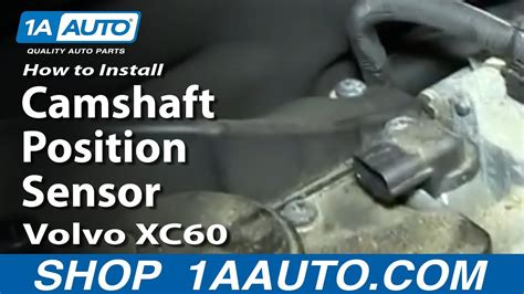 install replace camshaft position sensor volvo xc