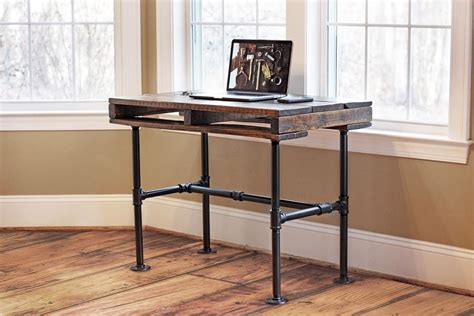 small industrial desk small industrial style desk home design industrial
