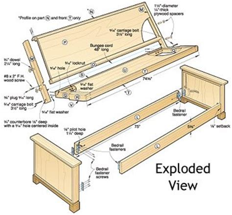 Sofa Bed Plans by Build Your Own Bed Plans Wood Magazine