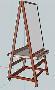 Easel Plans Woodworking : Creative Gray Easel Plans