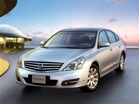 Nissan Teana Technical Specifications And Fuel Economy