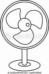 Fan Outline Electric Icon Drawings Clip Drawing Clipart Eps Artwork Graphic Canstockphoto sketch template