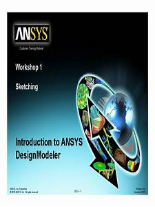Ansys Sketching Tutorial