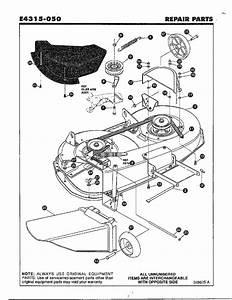 Final Deck Assembly Diagram  U0026 Parts List For Model