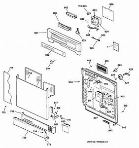 Assembly View For Escutcheon  U0026 Door Assembly