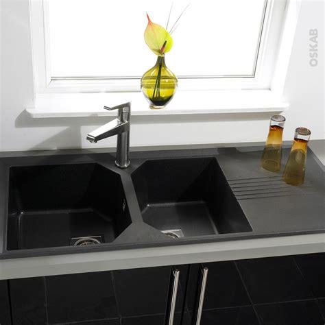 evier de cuisine en granite evier cuisine granit noir evier cuisine noir encastrable