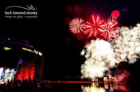 loch lomond shores festive lights switch on