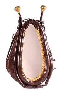Hames Horse Collar Mirror
