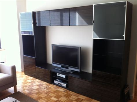 besta wall unit ikea besta and besta framsta tv entertainment installations new york by furniture assembly