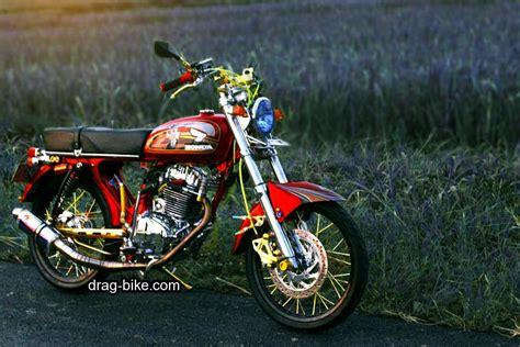 Modifikasi Motor Cb 100 by 51 Foto Gambar Modifikasi Motor Cb 100 Terbaik Kontes Drag