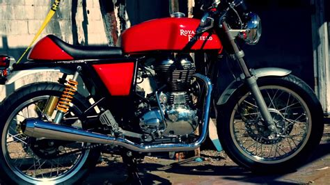 Royal Enfield Cafe Racer Images